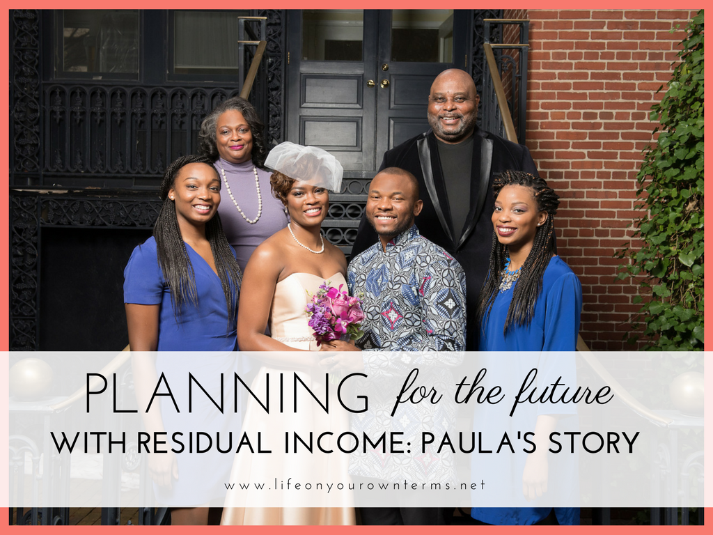 Planningn for the future with residual income - Planning for the Future with Residual Income