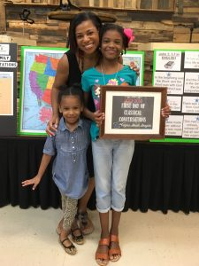 Tiffanee and her 2 kids 225x300 - How the Quiet Dancer Became an Accidental Entrepreneur