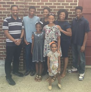 Tiffanee and her family 295x300 - How the Quiet Dancer Became an Accidental Entrepreneur