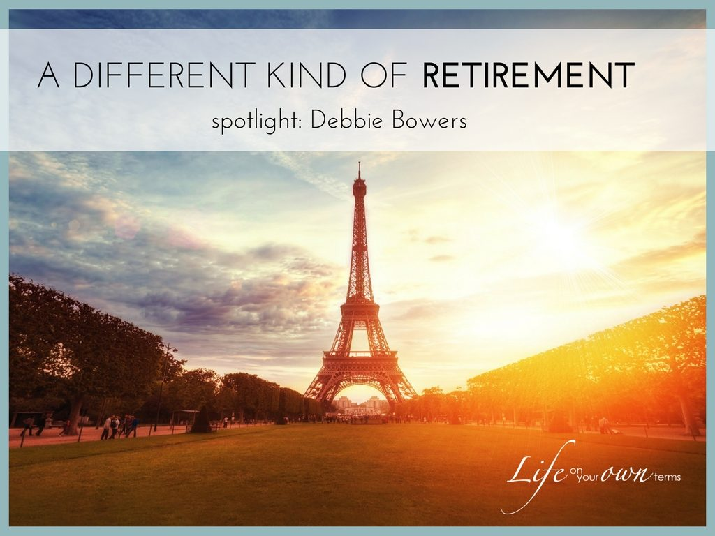 A Different Kind of retirement debbie bowers 1024x768 - A Different Kind of Retirement