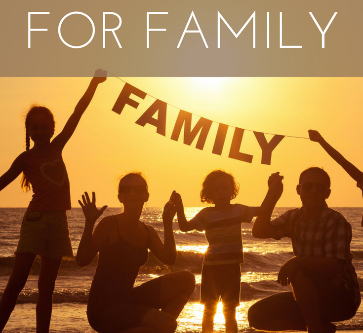 How to Live Life on Your Own Terms: Time for Family