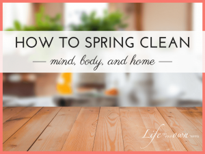 How to Spring Clean mind body home 2 300x225 - How to Spring Clean mind body home