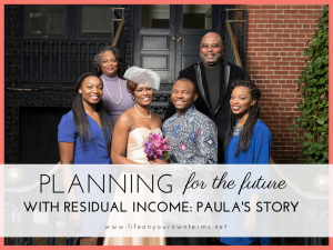 Planning for the future with residual income