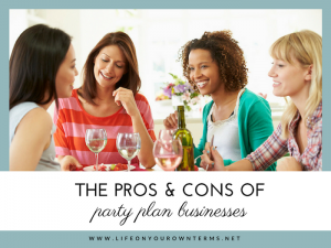 The pros and cons of party plan busineses small 2 300x225 - The pros and cons of party plan businesses small