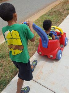 creating a health legacy boys walking 4 223x300 - creating a health legacy - boys walking